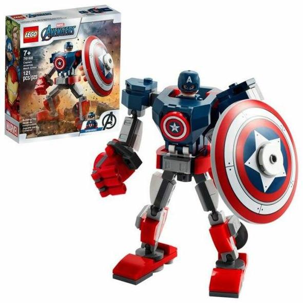 LEGO LEGO Super Heroes Captain America Mech Armor 76168
