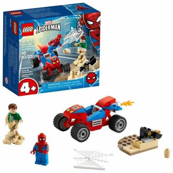 LEGO LEGO Super Heroes Spider-Man and Sandman Showdown 76172