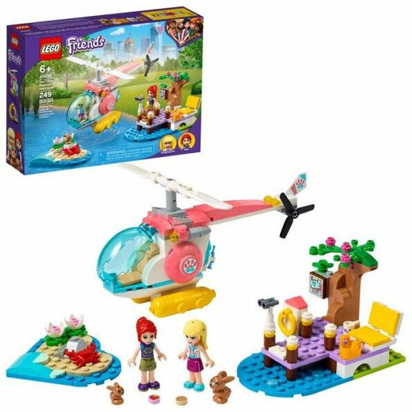 LEGO LEGO Friends Vet Clinic Rescue Helicopter 41692
