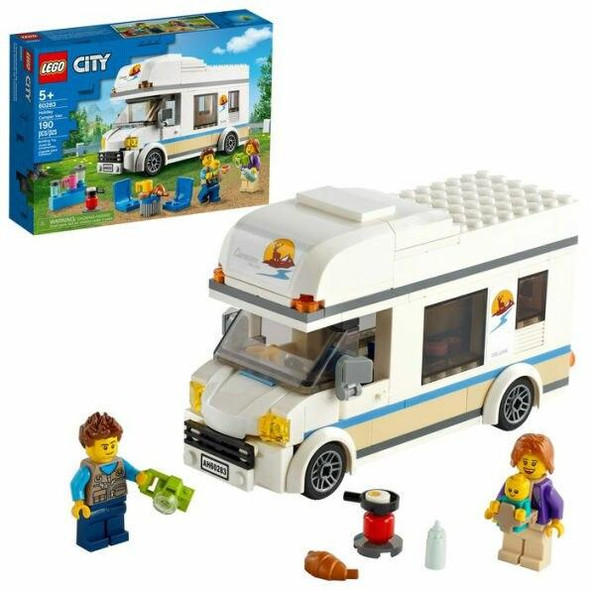 LEGO LEGO City Great Vehicles Holiday Camper Van 60283