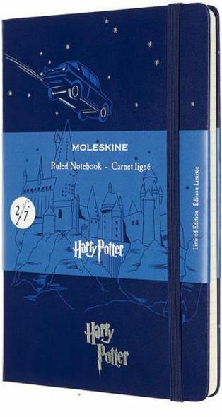 Moleskine Moleskine Limited Edition Notebook Harry Potter, Large, Ruled, Book 2, Royal Blue 5 x 8.25