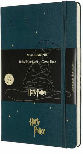 Moleskine Moleskine Limited Edition Notebook Harry Potter, Large, Ruled, Book 1, Tide Green 5 x 8.25