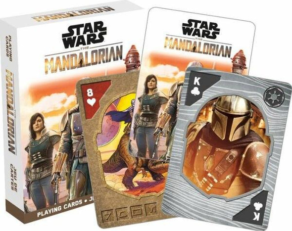NMR Star Wars The Mandalorian Playing Cards