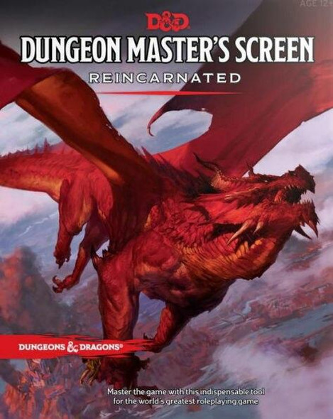 Wizards of the Coast Dungeon Masters Screen Reincarnated