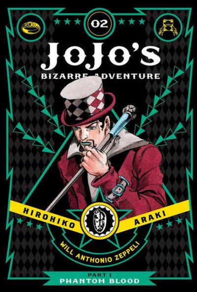 VIZ Media LLC JoJos Bizarre Adventure Part 1--Phantom Blood, Vol 2