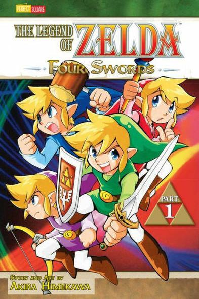 VIZ Media LLC Four Swords, Part 1 The Legend of Zelda Series #6