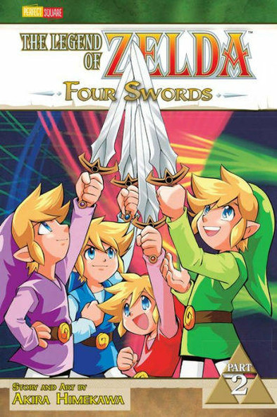 VIZ Media LLC Four Swords, Part 2 The Legend of Zelda Series #7