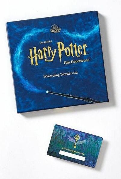 Wizarding World The Official Harry Potter Fan Experience Wizarding World Gold Gift Box