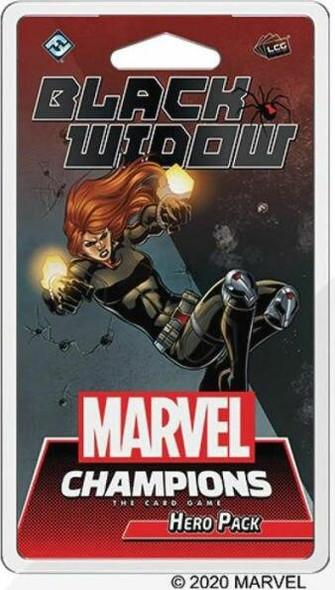 Asmodee North America Marvel Champions - Black Widow Hero Pack
