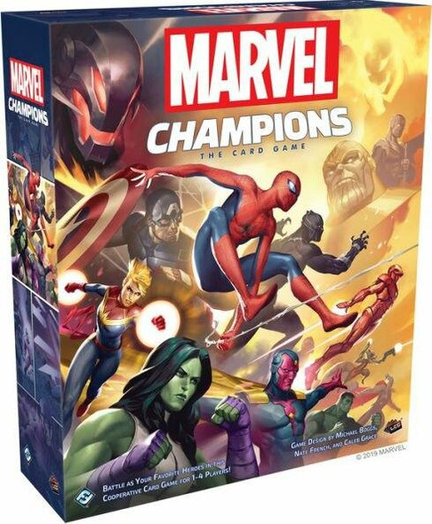 Asmodee North America Marvel Champions The Card Game