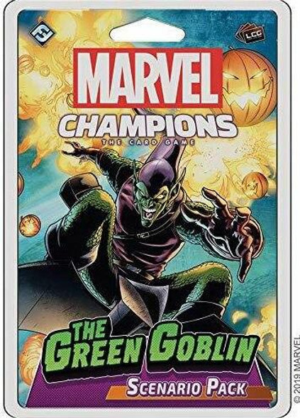 Asmodee North America Marvel Champions - Green Goblin Expansion