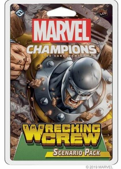 Asmodee North America Marvel Champions - The Wrecking Crew Scenario Pack