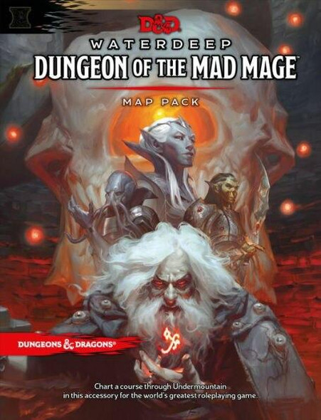 Wizards of the Coast DandD Waterdeep Dungeon of the Mad Mage Map Pack