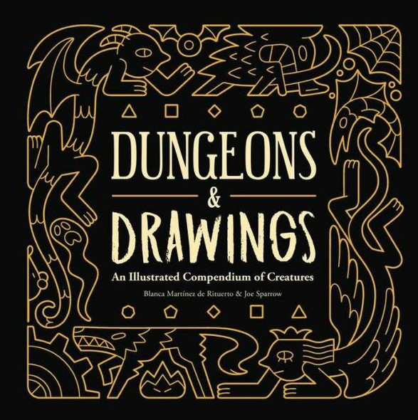 Andrews McMeel Publishing Dungeons and Drawings An Illustrated Compendium of Creatures