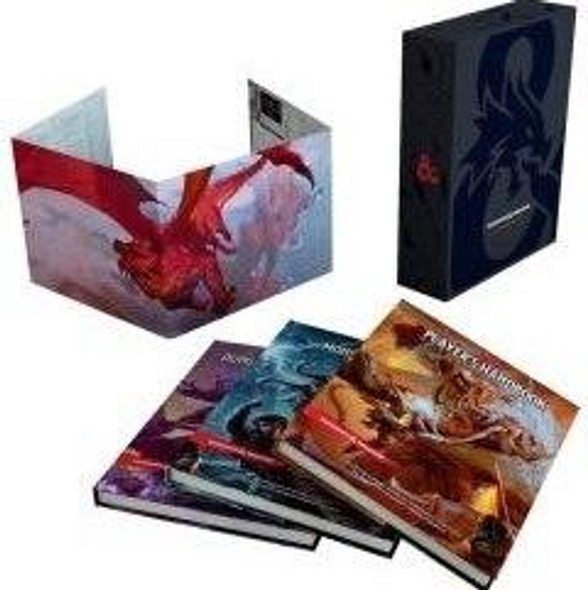 Wizards of the Coast Dungeons and Dragons Core Rulebooks Gift Set