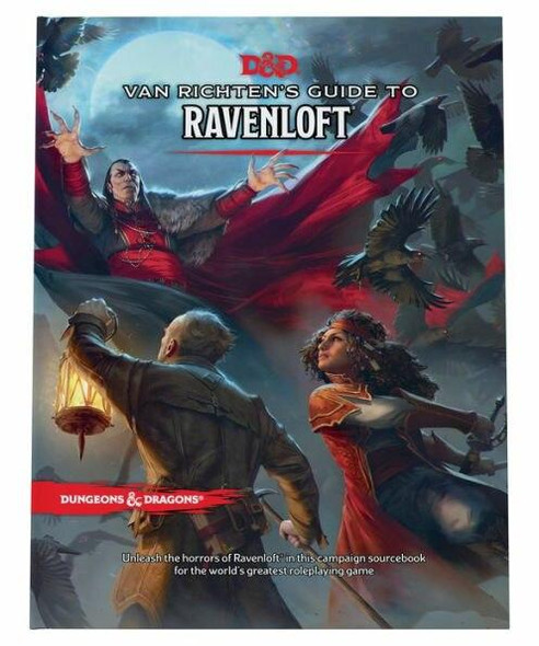 Wizards of the Coast Dungeons and Dragons Van Richtens Guide to Ravenloft
