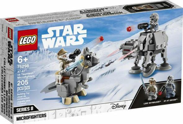 LEGO LEGO Star Wars AT-AT vs Tauntaun Microfighters 75298