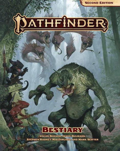Paizo Inc Pathfinder Bestiary P2