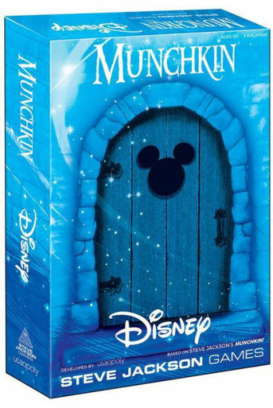 USAopoly Inc MUNCHKIN Disney Card Game