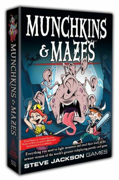 Steve Jackson Games Inc Munchkins and Mazes
