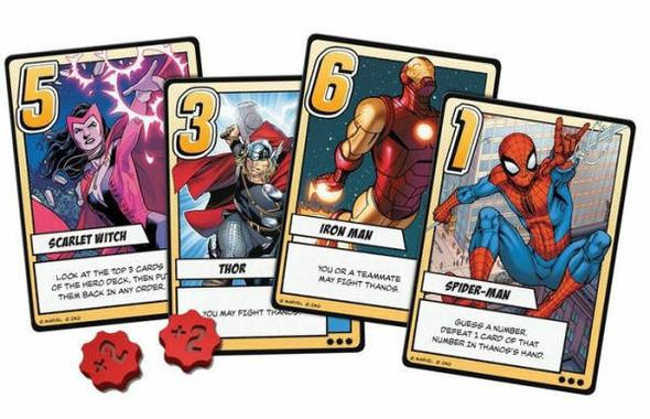 Z-MAN Marvel Infinity Gauntlet A Love Letter Game