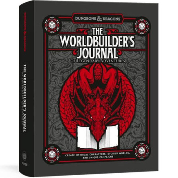 Potter/Ten Speed/Harmony/Rodale The Worldbuilders Journal of Legendary Adventures Dungeons and Dragons