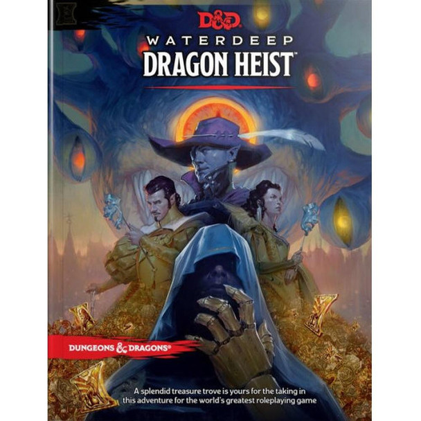 Wizards of the Coast Dungeons and Dragons Waterdeep Dragon Heist