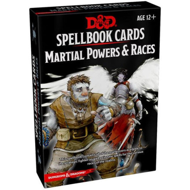 Wizards of the Coast Dungeons and Dragons Spellbook Cards Martial Powers and Races