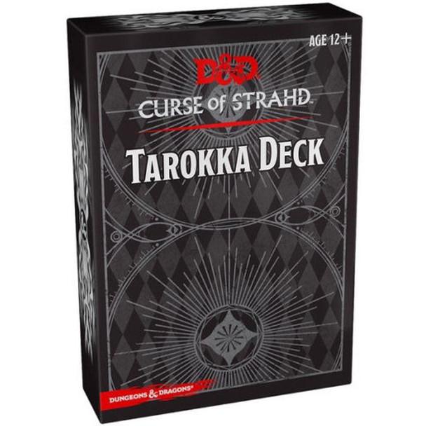 Wizards of the Coast Curse of Strahd Tarokka Deck