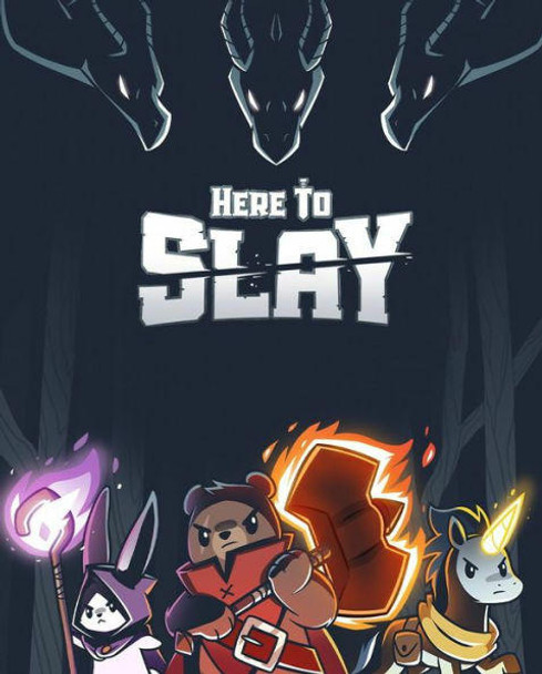 TeeTurtle LLC Here To Slay Strategy Game