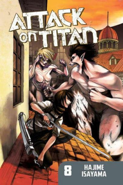 Kodansha International Attack on Titan, Volume 8