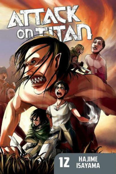 Kodansha International Attack on Titan, Volume 12
