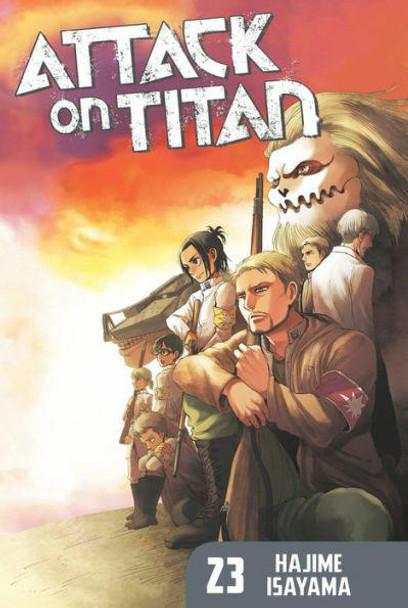 Kodansha International Attack on Titan, Volume 23