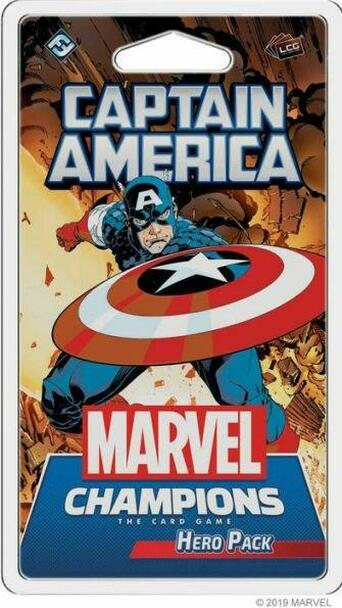 Asmodee North America Marvel Champions - Captain America Hero Pack