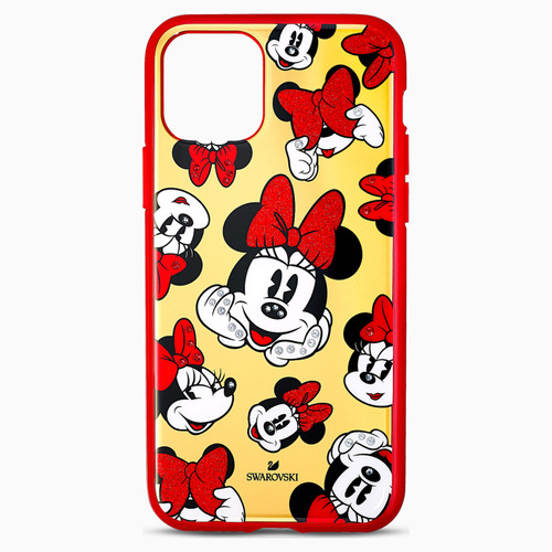 Swarovski Crystal Minnie Smartphone Case with Bumper, iPhone 11 Pro, Multicolored 5556531