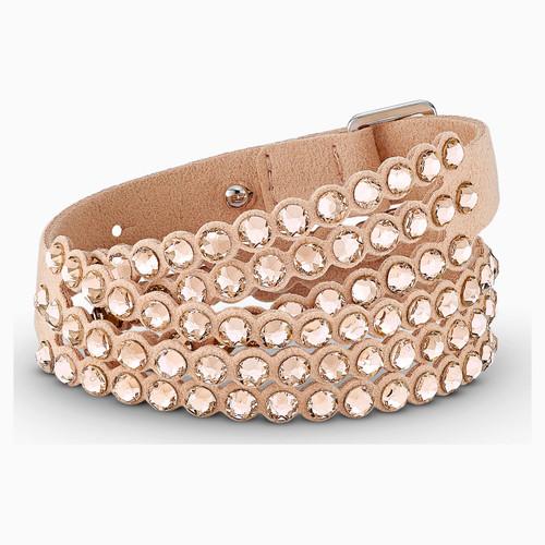 Swarovski Crystal Power Collection Slake Bracelet, Pink 5523022