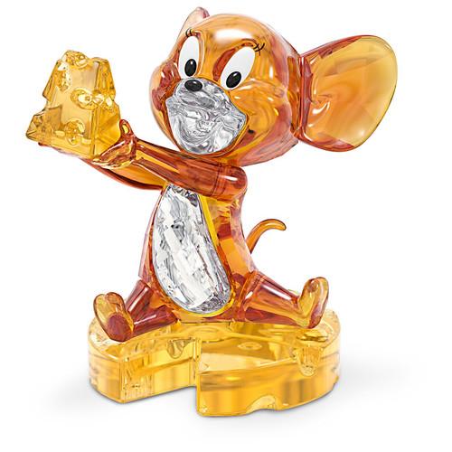 Swarovski Crystal Tom And Jerry, Jerry Figurine Decoration, Brown, 5515336