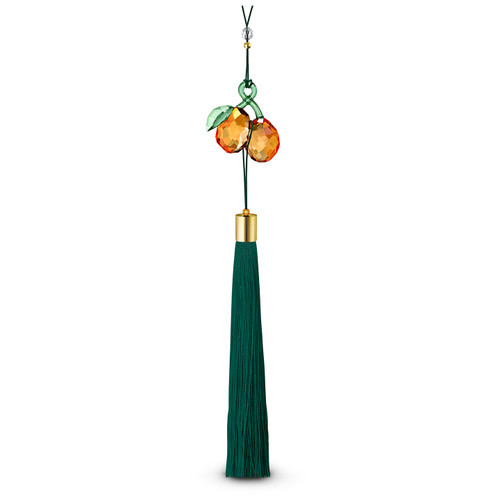 Swarovski Crystal Asian Symbols: Ornament Kumquat, Orange & Green, 5443420