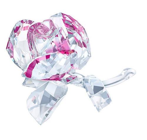 Swarovski Crystal Blossoming Rose Decoration Figurine 5248878
