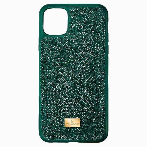 Swarovski Crystal Glam Rock Smartphone Case, iPhone 12/12 pro, Green 5567939