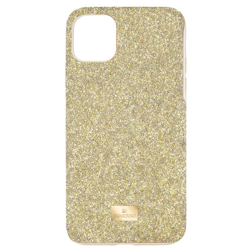 Swarovski Crystal High Collection Smartphone Case, iPhone 12 mini, Gold Tone 5592046