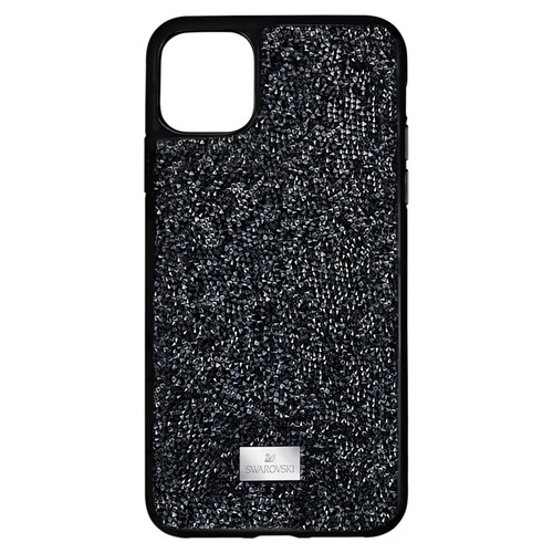 Swarovski Crystal Glam Rock Smartphone Case, iPhone 12 mini, Black 5592043