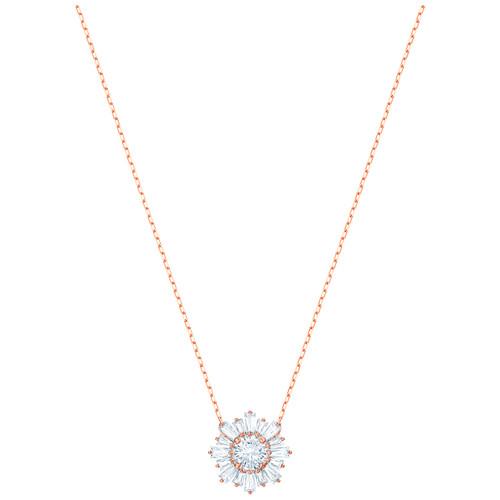 Swarovski Crystal Sunshine Love & Warmth Mother's Day Pendant, Rose Gold Plating 5451376