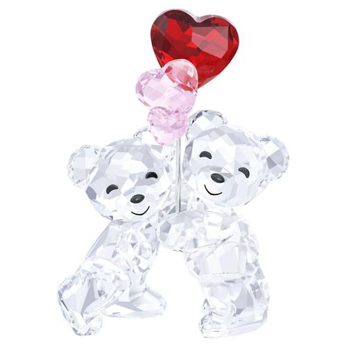 Swarovski Crystal Kris Bear - Heart Balloons Decoration Figurine 5185778