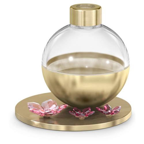 Swarovski Crystal Garden Tales Cherry Blossom Scent Diffuser Container, Gold Tone, 5557809