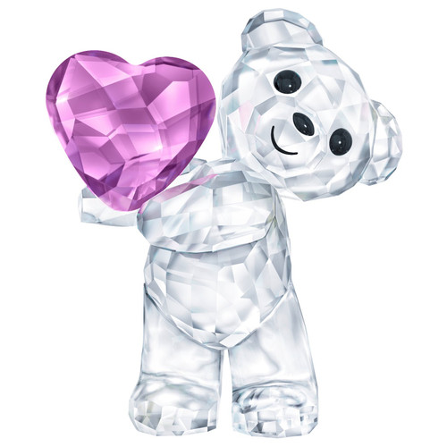 Swarovski Crystal Kris Bear - Take my Heart Figurine Decoration 5427995