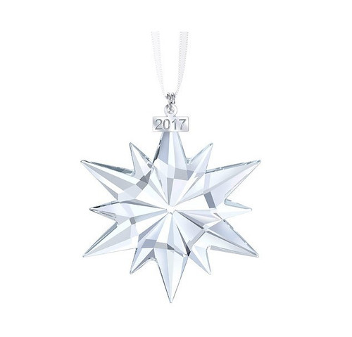 Swarovski Crystal Christmas Snowflake 2017 Annual Edition Ornament Large 5257589