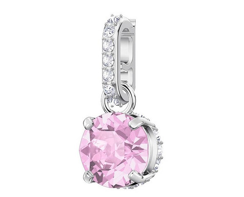 Swarovski Crystal Remix Collection Charm, June, Violet, Rhodium Plating 5437324