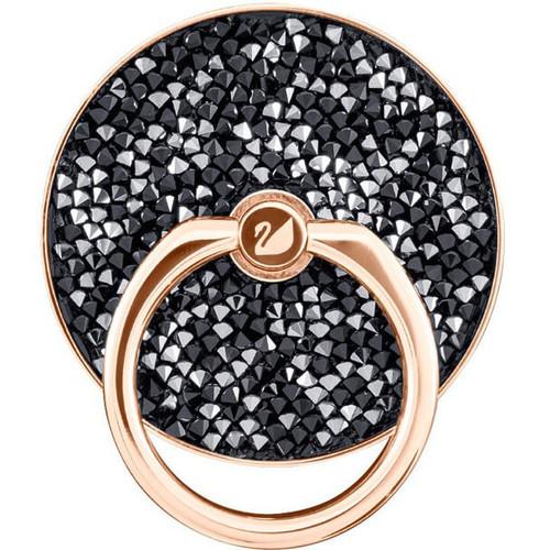Swarovski Crystal Glam Rock Ring Sticker, Black, Smartphone Kickstand 5457469