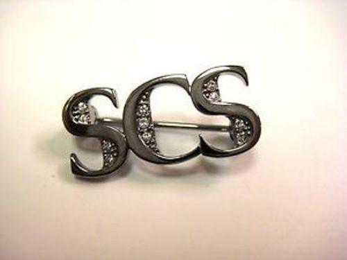 Swarovski Crystal SCS 2013 VIP Lounge Event Brooch Pin 1183058